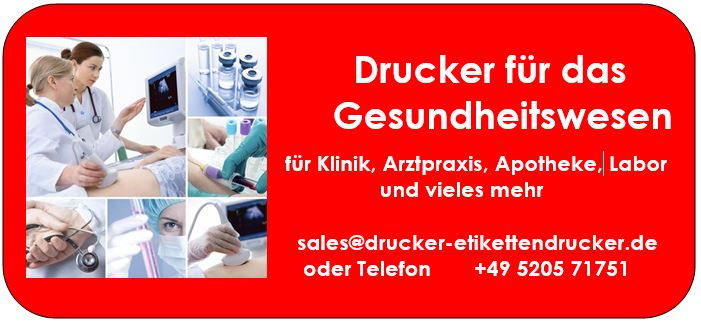 Arztpraxis-Drucker für Ihre Anwendungen