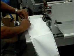 Automations-Drucker auch in staubiger Betriebs-Umgebung