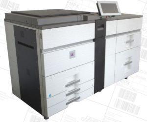 Automatisierungs-Drucker SOLID 90A3 / SOLID 105A3 / SOLID 120A3 vor Falz-Stationen und Belegeinleger