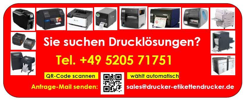 Automatisierungs-Drucker zum Druck von Rechnungen, Lieferscheinen, Etiketten