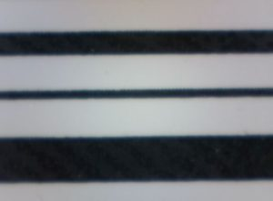 Avery 64-04 Drucker drucken beste horizontale Barcode-Linien