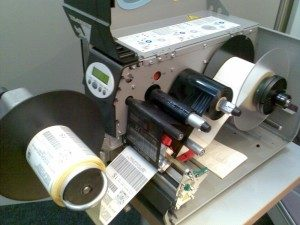 Avery 64-06 Drucker drucken mit Dot-Check