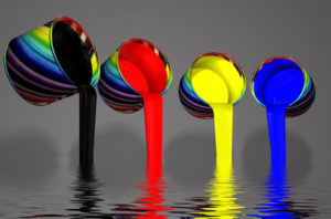 Banderolen drucken in Farbe