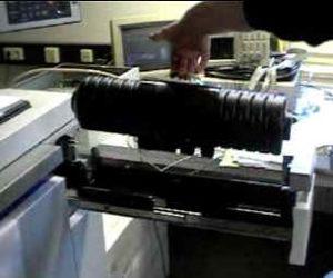 Eine Toner-Kartusche reicht für 120.000 Seiten (bei 5% Schwärzung)