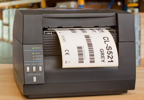 CL-S521 sind Thermodirektdrucker