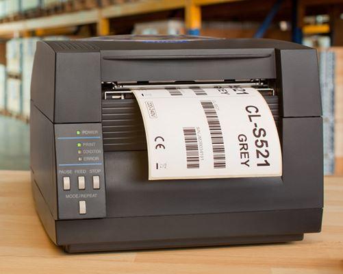 CL-S521 Thermodirekt-Drucker in der Logistik