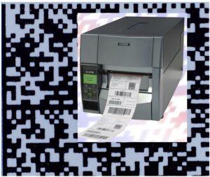 CL-S700 druck Datamatrix