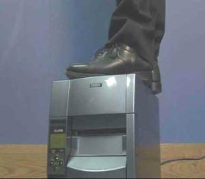 Citizen-Etikettendrucker sind robust und stabil