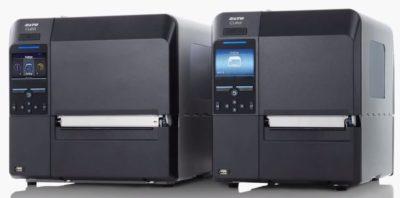 CL6NX und CL4NX sind Drucker für die Industrieautomatisierungu einer Druckerfamilie