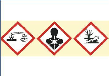 Chemie-Etiketten – 2-farbig oder vollfarbig drucken