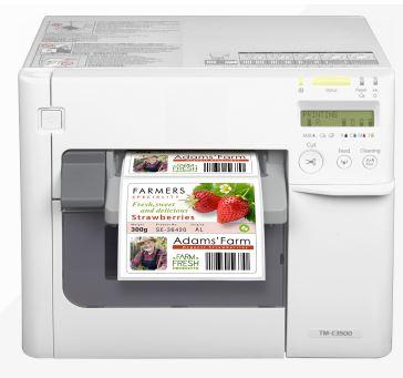 CW C3500 Inkjet–Drucker für farbige Etiketten