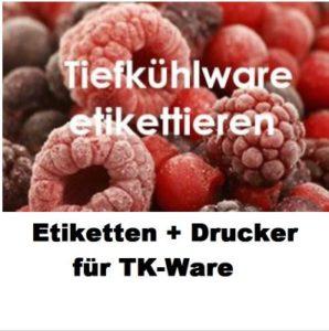 EPSON ColorWorks C831 bedrucken Beutelreiter für TK-Ware