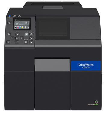 C6000 -Inkjet sind Drucker für farbige Selbstkleber