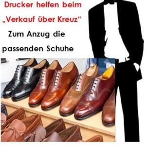 Cross-Selling Schuhe zum Anzug mitverkaufen