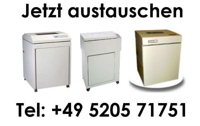 DEC-Zeilenmatrix-Drucker LG series, LGL06, LGL12, LGe06, LGe12, LGi12, LGi15, LG18i sind Hammerbankdrucker /Zeilendrucker / Lineprinter