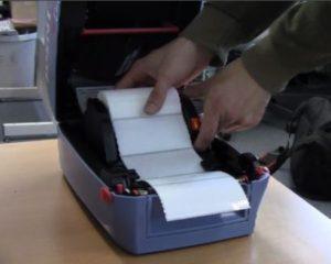DPD-Etiketten werden häufig mit Thermodrucker ausgedruckt