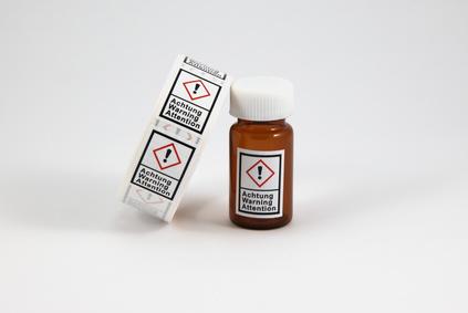 Desinfektionsmittel-Etiketten drucken