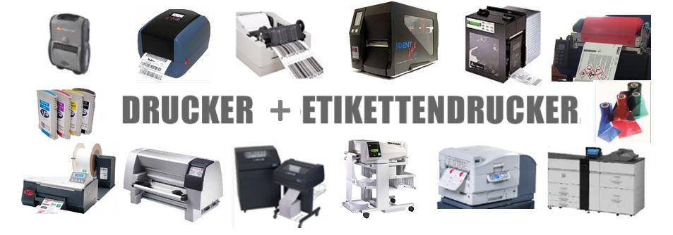 Drucker + Etikettendrucker