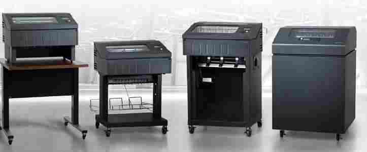 Zeilen-Matrixdrucker / Lineprinter sind besonders wirtschaftlich.