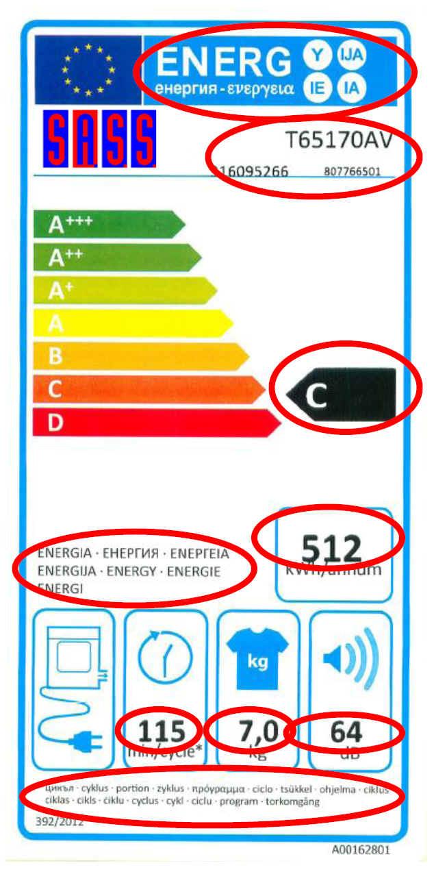 F26C - Drucker für Energie Effizienz Label