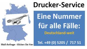 Drucker-Installation und Service