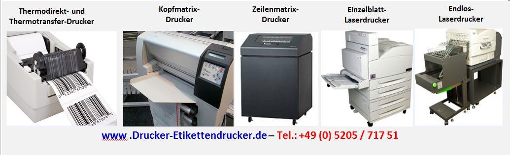 Drucker - Etikettendrucker