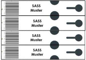 E2-Transportkisten-Etiketten und Drucker