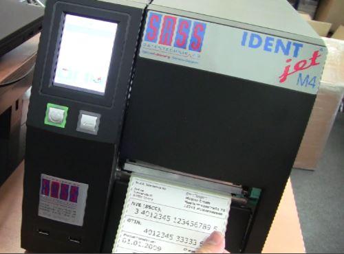 EAN128 Strichcode mit IDENTjet M4 ausgeben