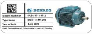 EPSON C6000AE Etiketten = resistent gegen Benzin, Öle, Aceton und mehr