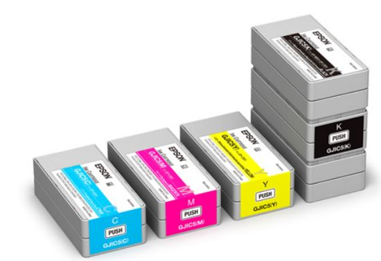 EPSON ColorWorks C831 Tinten sind zertifiziert für Gefahrstoff-Etiketten gemäß BS560