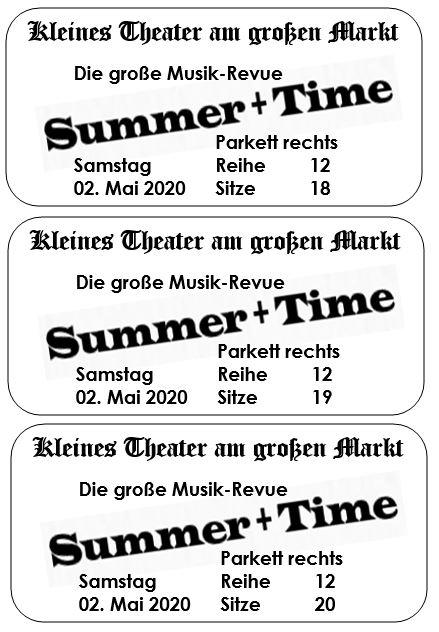 Drucker für Eintrittskarten