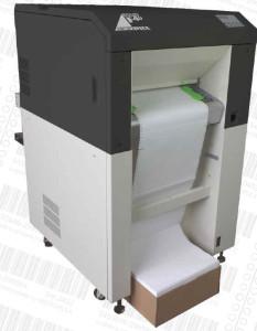 Solid F40 sind Endlos-Laserdrucker mit Blitzlicht-Fixierung.