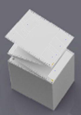 Protokoll-Drucker 204 ist ein 24-Nadeldrucker.