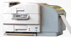 Endloslaser-Drucker für den Farbdruck