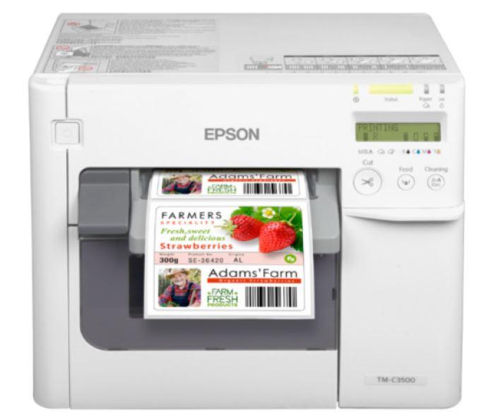 Epson ColorWorks C3500 Inkjet–Drucker für farbige Etiketten