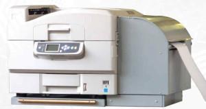 F36C Endlosdrucker drucken wischfest und kratzfest.