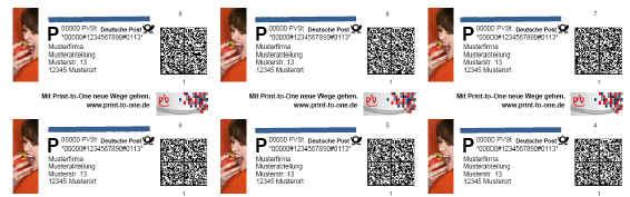 F36C für farbige Cheshire-Etiketten