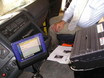 Fahrzeugdrucker fest eingebaut