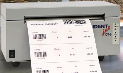 Fahrzeugdrucker IDENTjet DT12 ohne Einbau