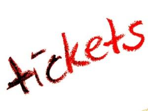 Farbiger Ticketdruck für den farbigen Ticketdruck
