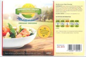Fertigsalat-Etiketten auch mit fortlaufender Serien-Nummer