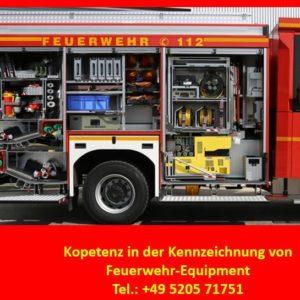 Feuerwehr-Kennzeichung