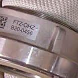 Feuerwehr-Etiketten. Schlauch-Kupplungen mit 2D-Codes kennzeichnen
