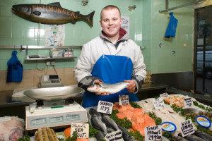 Fischetiketten gestalten und drucken