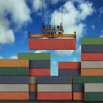 Container-Etiketten