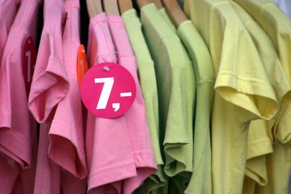 Anschiess-Etiketten zur Kennzeichnung von Kleider, usw.