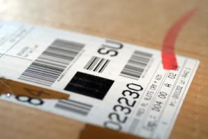 SOLID T4-2 Barcode-Label für den Versand