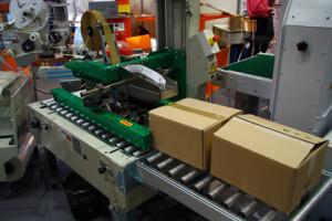 Etikettendruck am Verpackungsplatz drucken
