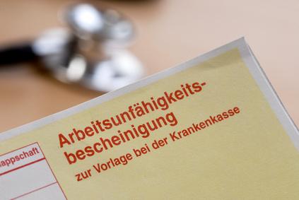 AU = Arbeitsunfähigkeitsbescheinigungen und Arzttermin-Erinnerungspostkarten