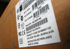 Etikettendrucker für breite Etiketten